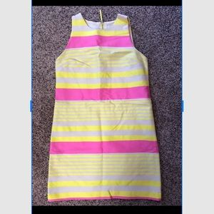 Ann Taylor Loft Pink Lemonade Shift Dress